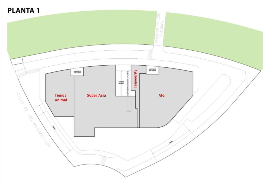 centro comercial arco majadahonda. Planta 1