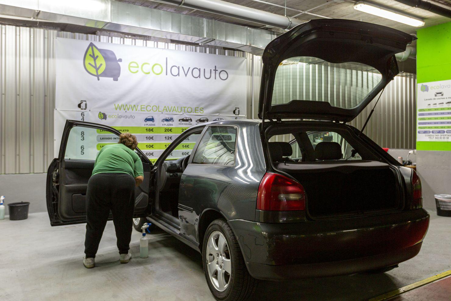 lavadero de coches en majadahonda Ecolavauto